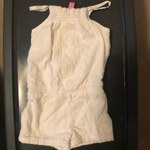 Lilly Pulitzer girls romper